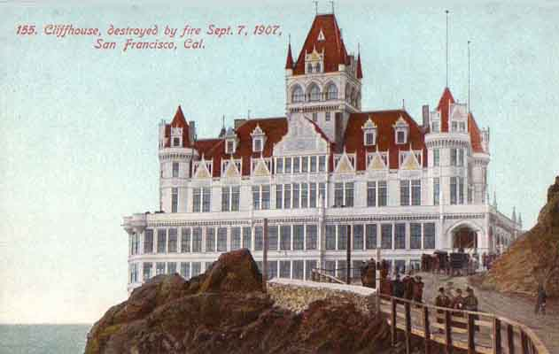Cliffhouse Postcard