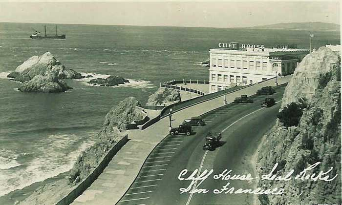 Cliff House Postcard