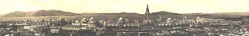 Photo Panorama of Panama Pacific International Exposition San Francisco 1915